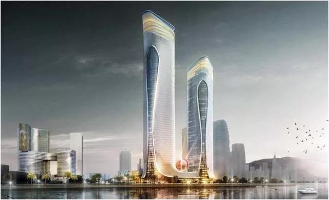 欧陆抗菌吊顶成功应用于横琴国际金融中心大厦工程项目,尽展品牌超强实力
