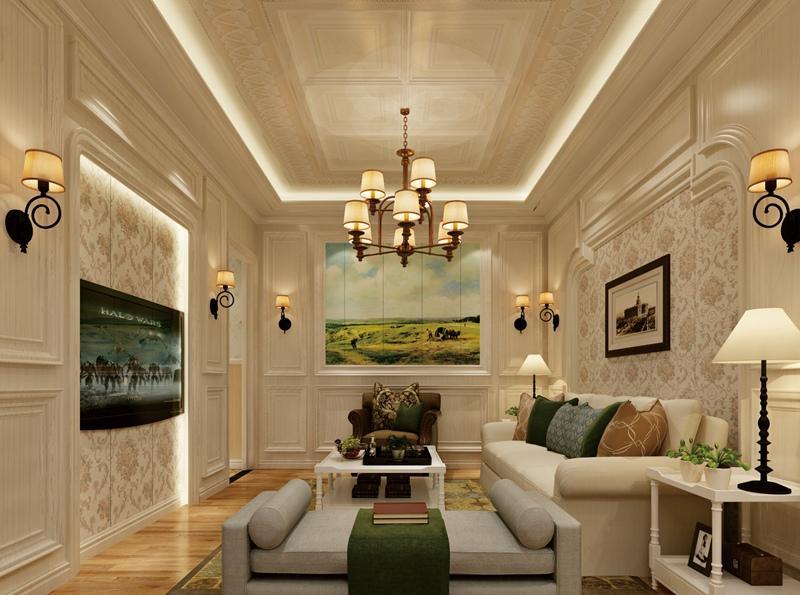 走廊吊顶造型这样做,轻松舒适!