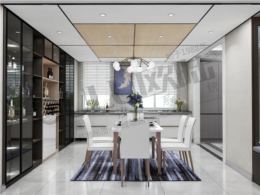 """欧陆美居蜂窝大板,高颜值+强性能,演绎""""大""""不一样的居室吊顶美学!"""
