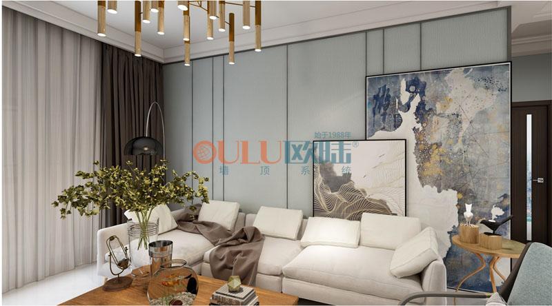 欧陆美居云锦系列集成墙面,描绘诗意如画的品质生活
