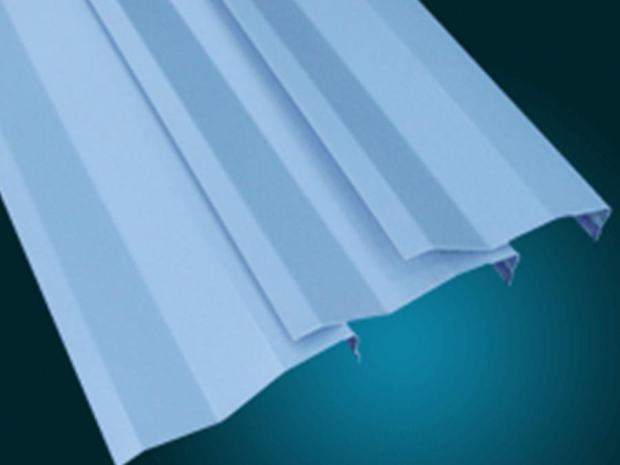 J型-滴水叶片天花 天花吊顶-全屋整装天花|幕墙效果图