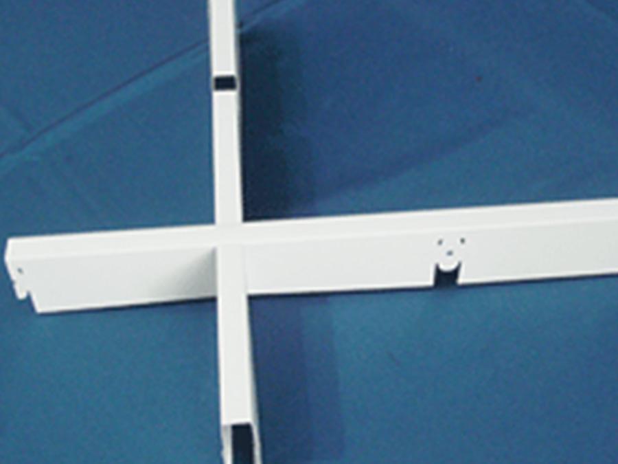 造型格栅天花 天花吊顶-全屋整装天花|幕墙效果图