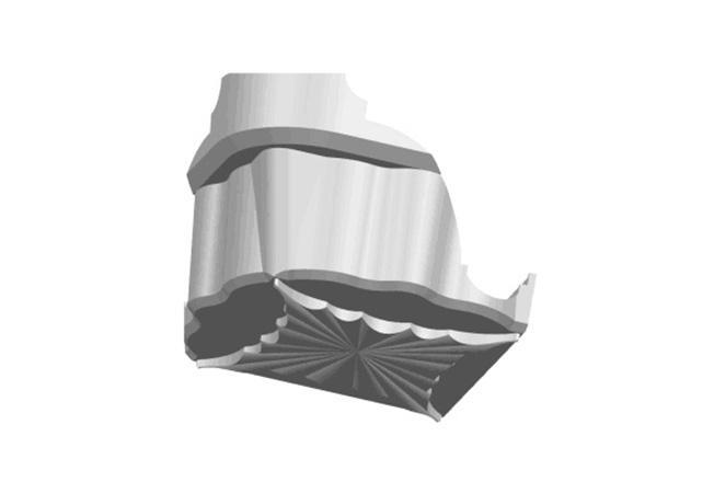 灯槽转接件-全屋整装集成配件效果图