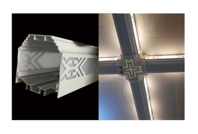 铝梁T-全屋整装抗菌吊顶效果图