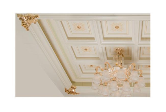 欧式二级灯槽/欧式转角-全屋整装集成配件效果图