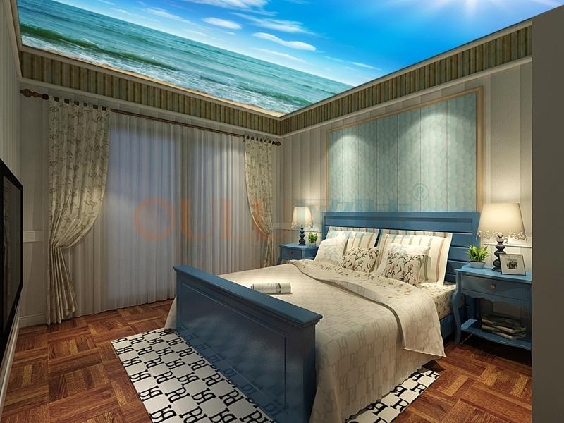 铝复合聚氨酯板儿童卧室-全屋整装案例赏析效果图