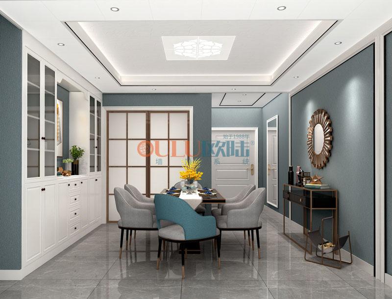 2019年新品 竹语 客厅吊顶-全屋整装客厅吊顶效果图