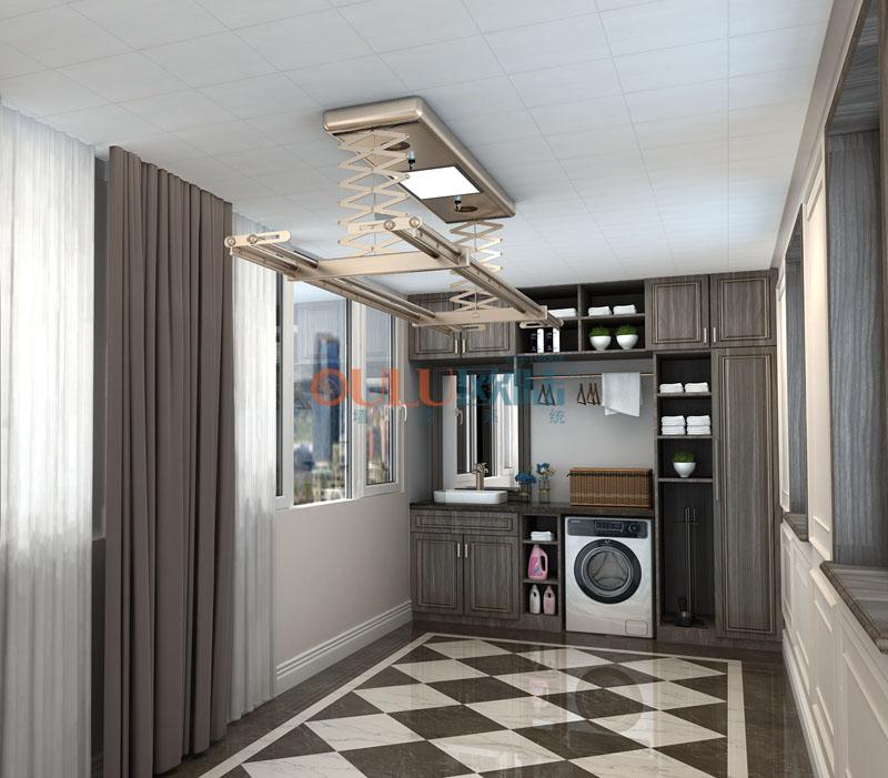 木香居 负离子抗菌吊顶 厨房吊顶-全屋整装厨房吊顶效果图