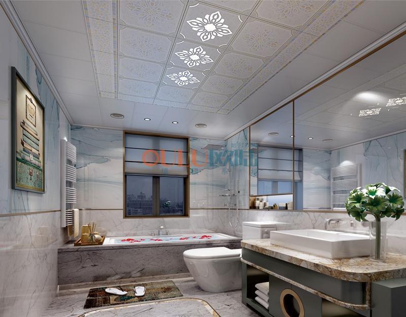 歌韵系列悦色2 阳台吊顶-全屋整装阳台吊顶效果图