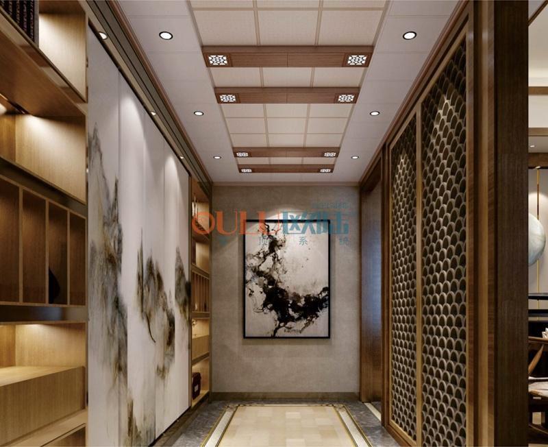 歌韵系列秋瑟3 厨房吊顶-全屋整装厨房吊顶效果图