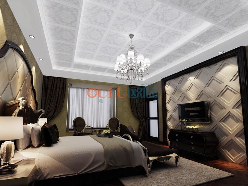 花韵系列 卧室吊顶-全屋整装卧室吊顶效果图