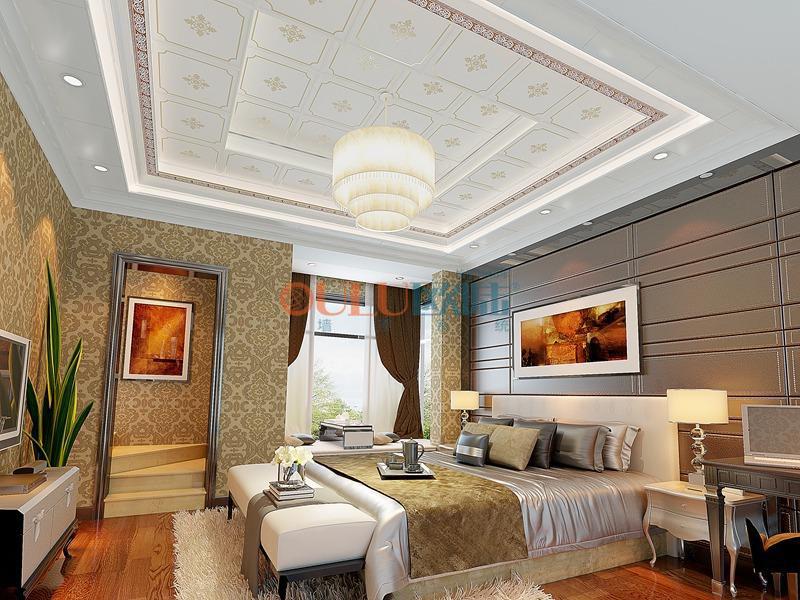 金镶玉系列 卧室吊顶-全屋整装卧室吊顶效果图